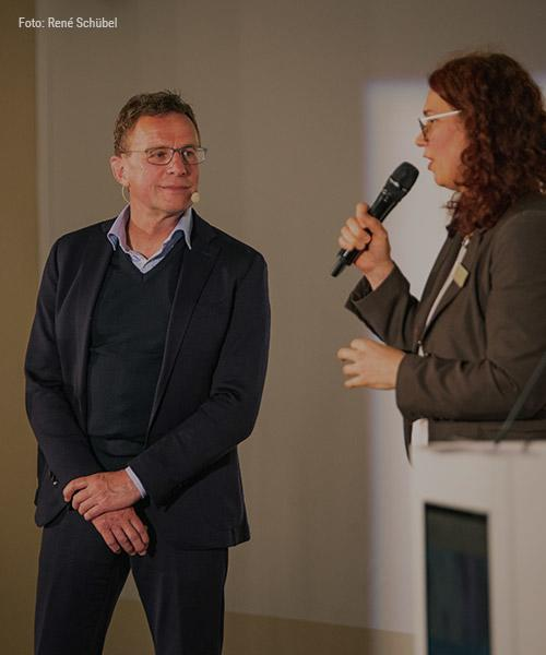 Ralf Rangnick Foundation - Ralf Rangnick speaks at the kick-off event